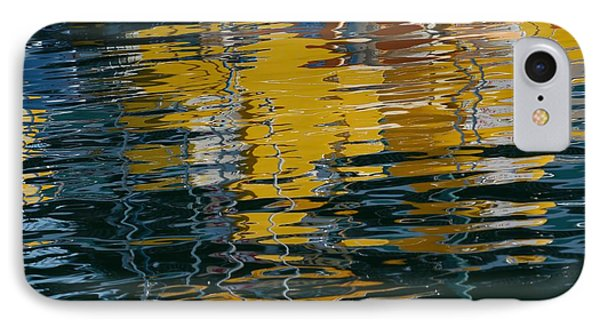 Marina Water Abstract 2 IPhone Case by Fraida Gutovich