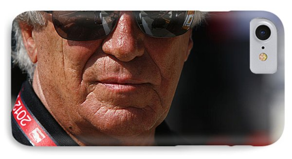 Mario Andretti Racing Legend IPhone Case