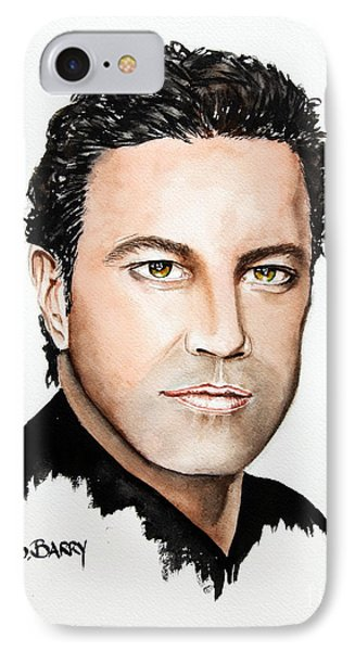 IPhone Case featuring the painting Mario Frangoulis by Maria Barry