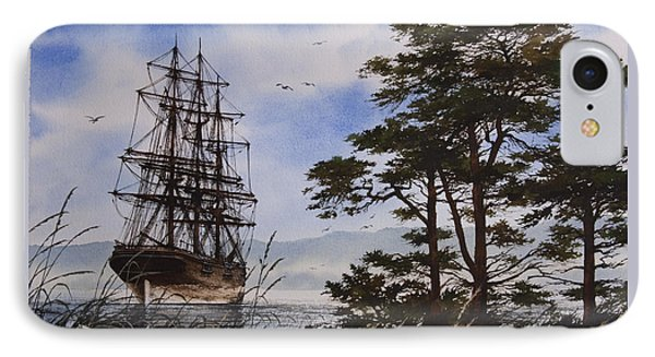 Maritime Shore IPhone Case by James Williamson