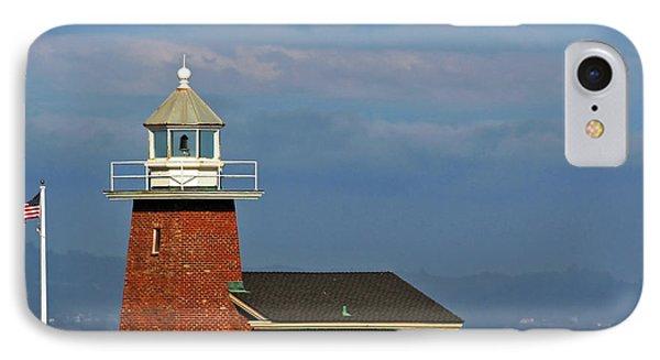Mark Abbott Memorial Lighthouse California - The World's Oldest Surfing Museum IPhone Case by Christine Till