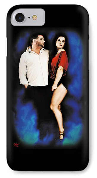 Mark And Dawn IPhone Case