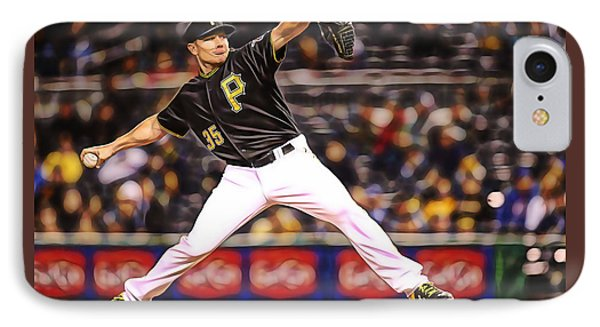 Mark Melancon Baseball IPhone Case by Marvin Blaine