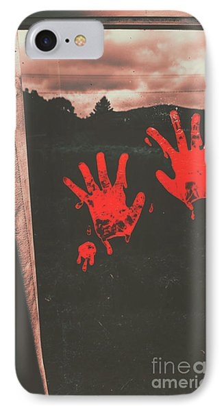 Mark Of Murder IPhone Case