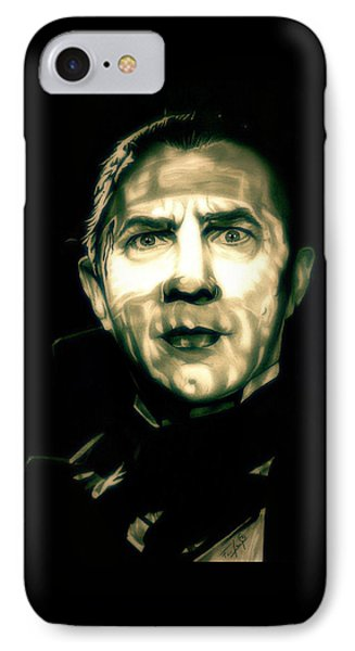 Mark Of The Vampire IPhone Case by Fred Larucci