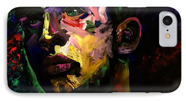 IPhone Case featuring the painting Mark Webster Artist - Dave C. 0410 by Mark Webster Artist