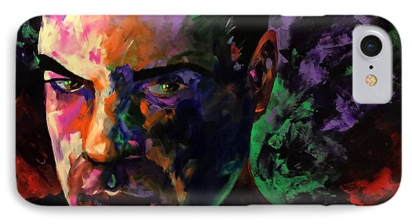 IPhone Case featuring the painting Mark Webster Artist by Mark Webster