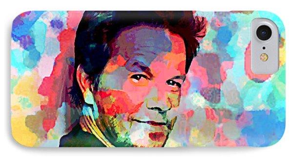 Mark Wahlberg  IPhone Case by Enki Art