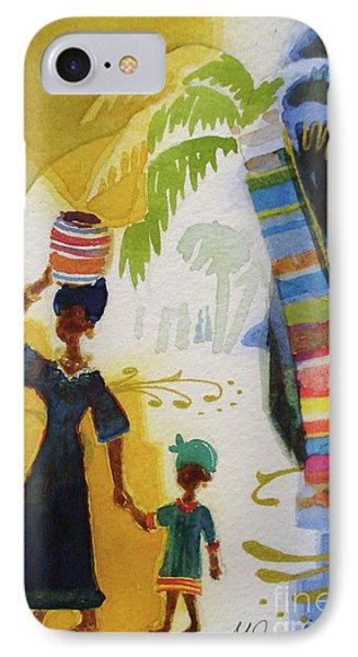 Market Day IPhone Case by Marilyn Jacobson