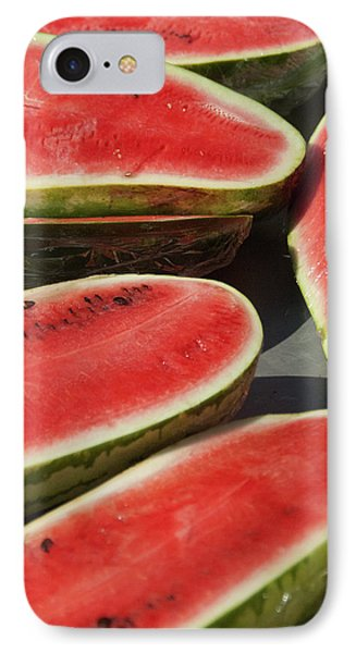 IPhone Case featuring the photograph Market Melons by Michael Flood