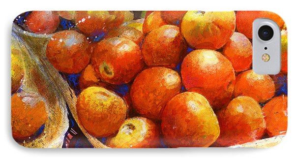 Market Tomatoes IPhone Case by Andrew King