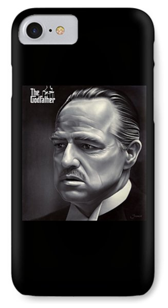 Marlon Brando Drawing  IPhone Case