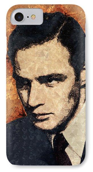 Marlon Brando Portrait IPhone Case