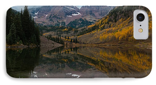 Maroon Bells IPhone Case by Gary Lengyel