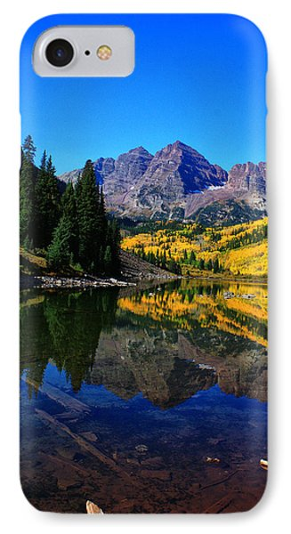Maroon Bells In Aspen 2 Phone Case by Bruce Hamel