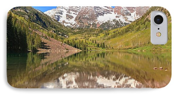 Maroon Bells Wilderness Reflections IPhone Case by Adam Jewell