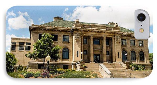 Marquette Public Library IPhone Case