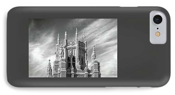 Marquette University Marquette Hall IPhone Case by University Icons