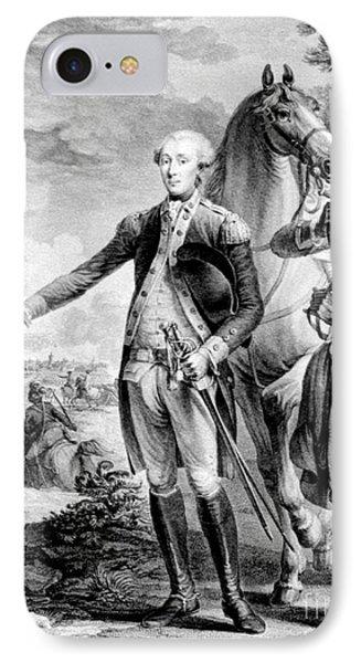 Marquis De Lafayette, Siege IPhone Case by Science Source