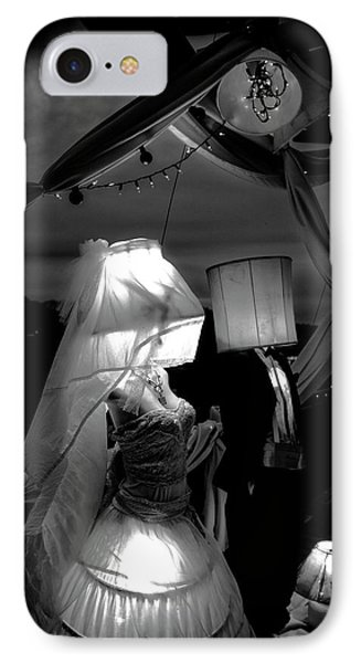IPhone Case featuring the photograph Marriage Of Darkness And Light by Alan Raasch