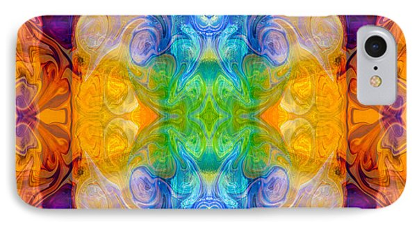 Marrying A Rainbow Abstract Bliss Art By Omashte IPhone Case