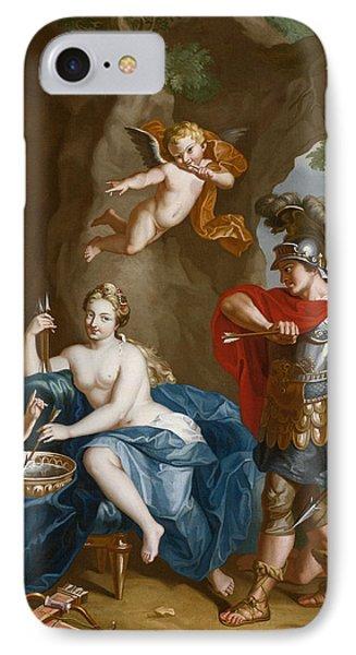 Mars, Venus And Vulcan IPhone Case by John Singleton Copley