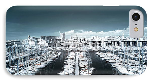 Marseille Blues Phone Case by John Rizzuto