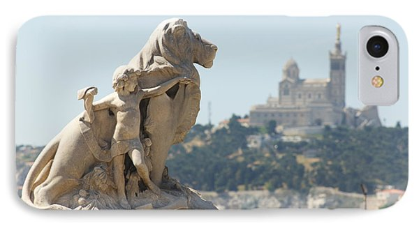 Marseille-saint-charles Statue, France IPhone Case