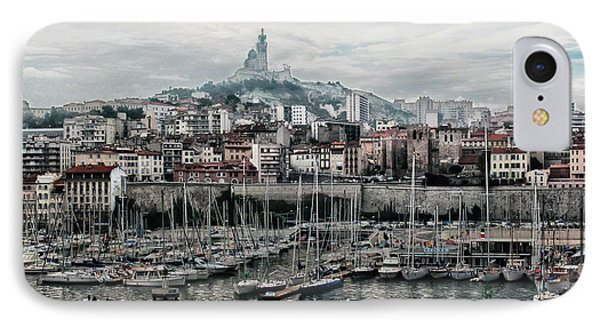 Marseilles France Harbor IPhone Case by Alan Toepfer