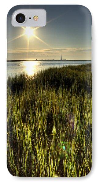 Marsh Grass Sunrise IPhone Case by Dustin K Ryan