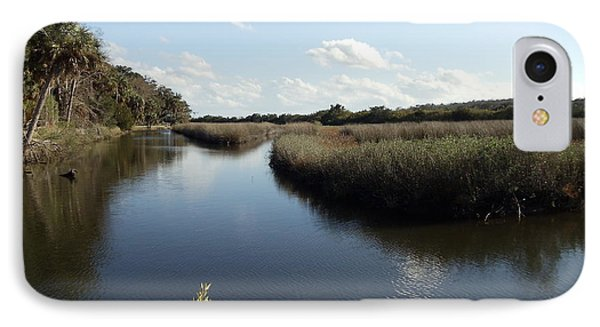 Marsh Reflection IPhone Case by Cheryl Waugh Whitney