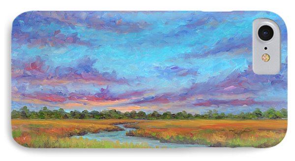 Marsh View From Morris Island - Folly Beach IPhone Case by Jeff Pittman