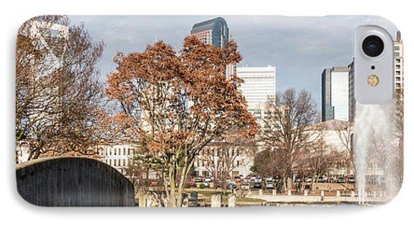 Marshall Park Charlotte Panorama Photo IPhone Case by Paul Velgos