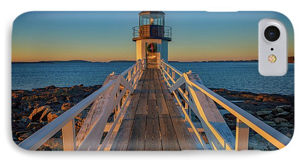 Marshall Point Light Station IPhone Case