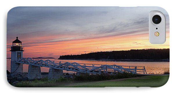 Marshall Point Lighthouse, Port Clyde, Maine -87444 IPhone Case