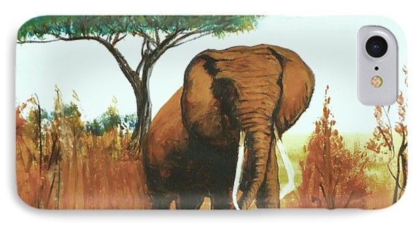 Marsha's Elephant IPhone Case
