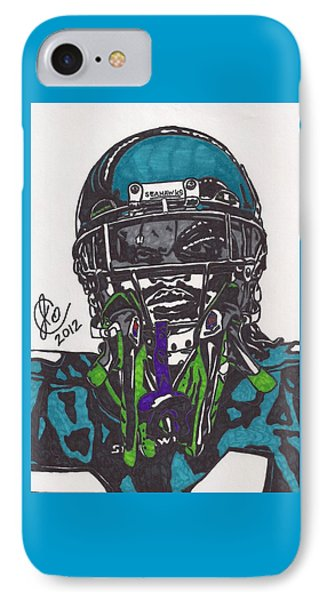 Marshawn Lynch 1 IPhone Case by Jeremiah Colley
