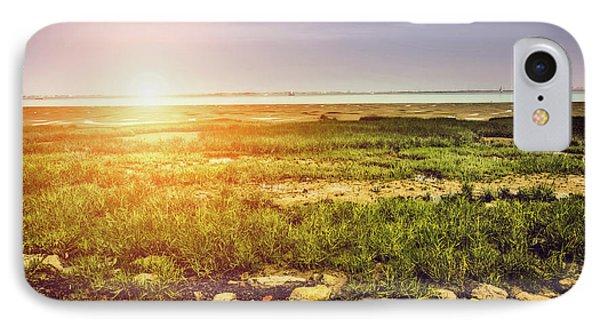 Marshland IPhone Case by Wim Lanclus