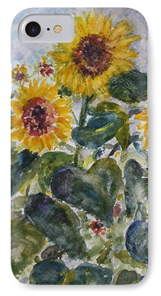 Martha's Sunflowers IPhone Case