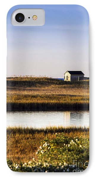 Martha's Vineyard Beach Shack IPhone Case by John Greim