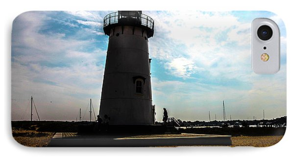 IPhone Case featuring the photograph Martha's Vineyard Lighthouse - Massachusetts by Madeline Ellis