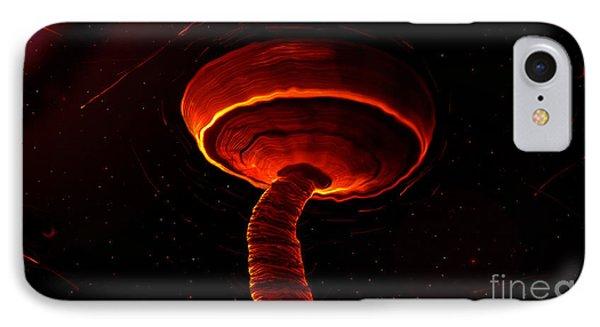 Martian Dust Devil Phone Case by David Lee Thompson