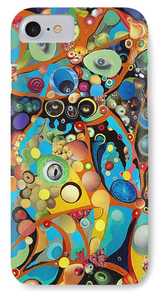 IPhone Case featuring the painting Martian Venusian by Douglas Fromm