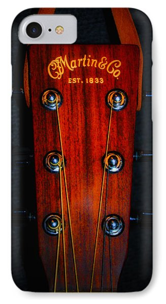 Martin And Co. Headstock IPhone Case by Bill Cannon