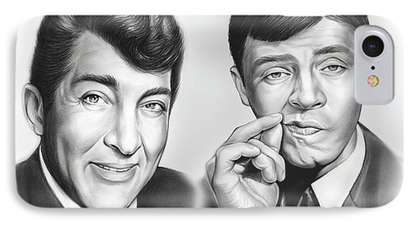 Martin And Lewis IPhone Case