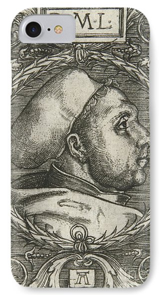 Martin Luther, 1521 IPhone Case by Albrecht Altdorfer