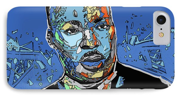 Martin Luther King Color IPhone Case