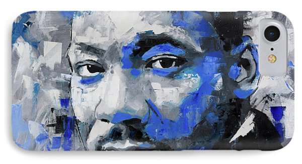 IPhone Case featuring the painting Martin Luther King Jr by Richard Day
