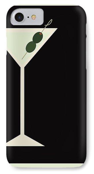 Martini iPhone 7 Case - Martini by Julia Garcia