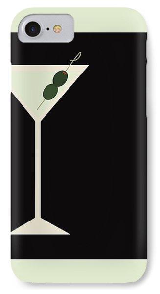 Martini IPhone 7 Case by Julia Garcia